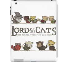lord of the cat iPad Case/Skin