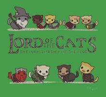 lord of the cat Kids Tee