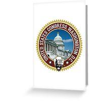 Washington Capitol Building Greeting Card