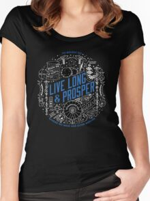 live long and prosper by remi42 Women's Fitted Scoop T-Shirt