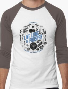 live long and prosper by remi42 Men's Baseball ¾ T-Shirt