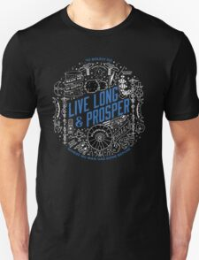 live long and prosper by remi42 Unisex T-Shirt