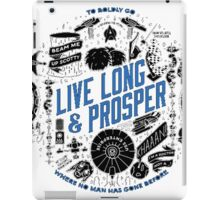 live long and prosper by remi42 iPad Case/Skin