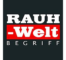 RAUH-WELT BEGRIFF : GIFT Photographic Print