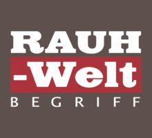 RAUH-WELT BEGRIFF : GIFT One Piece - Short Sleeve