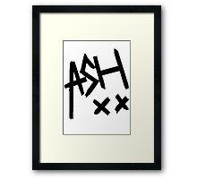 Ash xx Framed Print