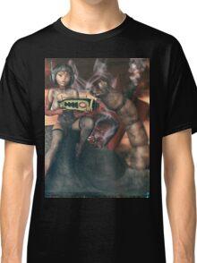 Vintage Sci-Fi 3 Classic T-Shirt