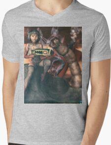 Vintage Sci-Fi 3 Mens V-Neck T-Shirt