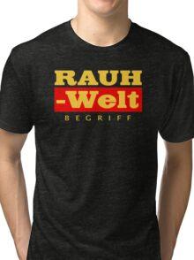 RAUH-WELT BEGRIFF : GOLD Tri-blend T-Shirt