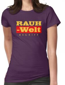 RAUH-WELT BEGRIFF : GOLD Womens Fitted T-Shirt