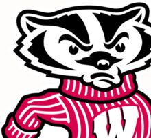 Go Badgers! Sticker