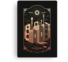 Sound City Canvas Print