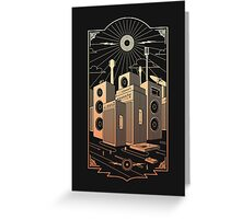 Sound City Greeting Card