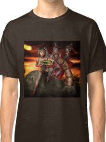 Vintage Sci-Fi 4 Classic T-Shirt
