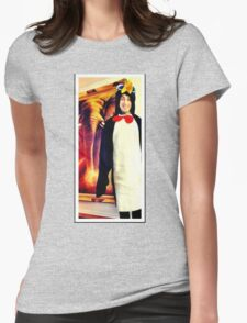 Ronnie the Penguin Womens Fitted T-Shirt