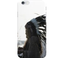 Red Indian iPhone Case/Skin