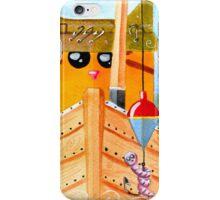 Cat  Fisher iPhone Case/Skin