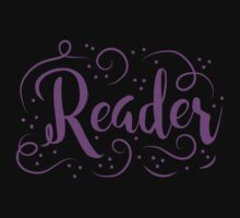Reader (word in purple) One Piece - Long Sleeve