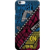 Civil Choice iPhone Case/Skin
