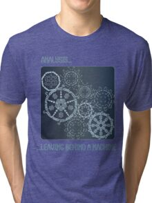 Analysis: Money Corrupted the Soul Leaving Behind a Machine Tri-blend T-Shirt