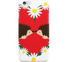 Hedge Hog Love iPhone Case/Skin