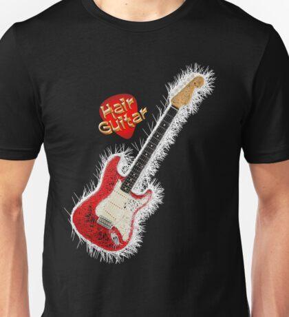 Hair Guitar ~ RED Unisex T-Shirt