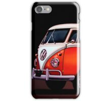 Volkswagen T1 Samba Painting iPhone Case/Skin