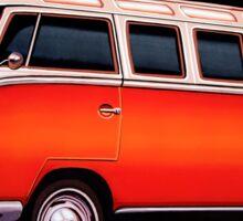 Volkswagen T1 Samba Painting Sticker