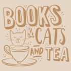 Books and CATS and tea by jazzydevil