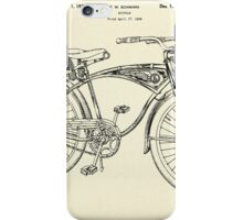 Bicycle-1939 iPhone Case/Skin