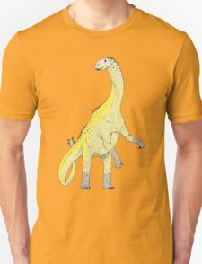 Shunosaurus In Color Unisex T-Shirt