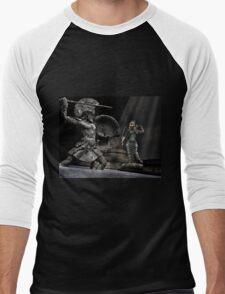Medusa  Men's Baseball ¾ T-Shirt