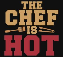 THE CHEF IS HOT  One Piece - Long Sleeve