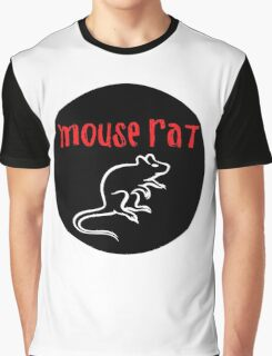 Mouse Rat Circle Graphic T-Shirt