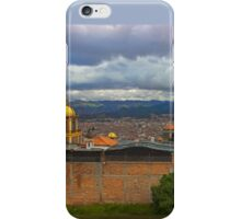 View Of Cuenca From The North Hill iPhone Case/Skin