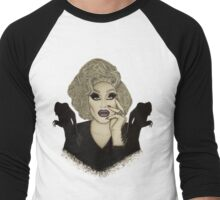 Sharon Needles Nosferatu Drawing Men's Baseball ¾ T-Shirt