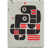 Two lovers, one bench iPad Case/Skin