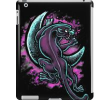 Space Purple Panther Moon iPad Case/Skin