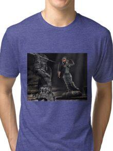 Medusa 2 Tri-blend T-Shirt