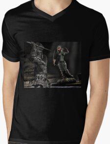 Medusa 2 Mens V-Neck T-Shirt