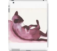 Inky Cat 6 iPad Case/Skin