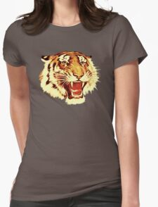 Tiger Circus Womens Fitted T-Shirt