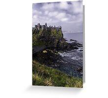 Dunluce Coastal View Greeting Card