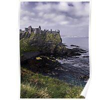 Dunluce Coastal View Poster