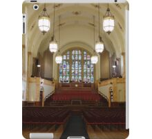 The Great Hall At Birmingham University iPad Case/Skin