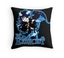 Chibi Rin - Blue Exorcist Throw Pillow