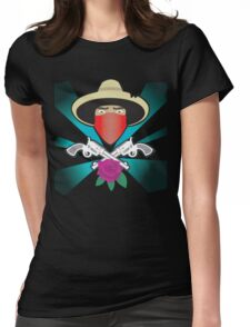 el ammo bandito  Womens Fitted T-Shirt