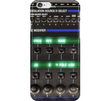 Oberheim Xpander Front Panel iPhone Case/Skin