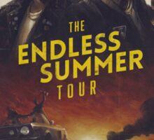 The Endless Summer Tour Poster Sticker