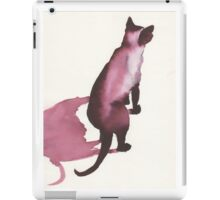 Inky Cat 10 iPad Case/Skin